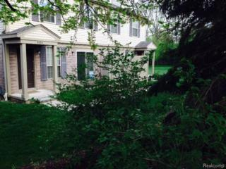 3004  Forest Creek Ct E 62, Ann Arbor, MI 48108 (MLS #46376397) :: The Toth Team