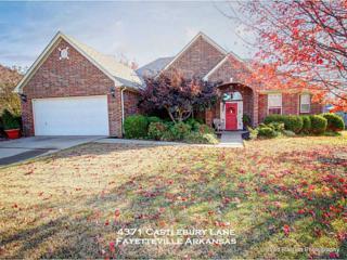 4371 W Castlebury Lane  , Fayetteville, AR 72704 (MLS #720960) :: McNaughton Real Estate