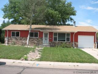910  Taft Ave  , Cheyenne, WY 82001 (MLS #58546) :: Coldwell Banker The Property Exchange