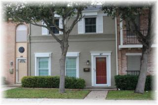 67  Townhouse  , Corpus Christi, TX 78412 (MLS #232940) :: Baxter Brooks Real Estate