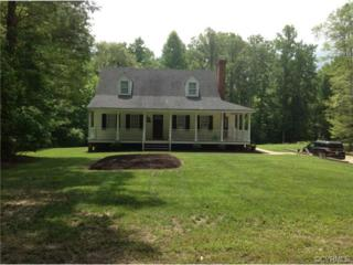 9909  Old Dirt Road  , New Kent, VA 23124 (MLS #1418154) :: Exit First Realty
