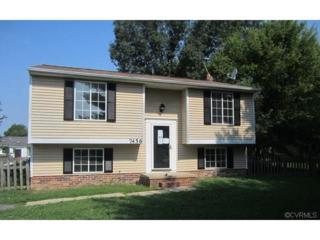 7456  Bridle Court  , Mechanicsville, VA 23111 (MLS #1424185) :: Exit First Realty