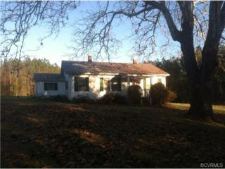 11713  Baltimore Road  , Ford, VA 23850 (MLS #1431886) :: Exit First Realty