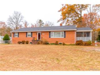 10463  Rockingham Road  , Mechanicsville, VA 23116 (MLS #1431920) :: Exit First Realty
