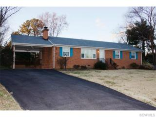 7107  Bonniefield Drive  , Mechanicsville, VA 23111 (MLS #1500734) :: Exit First Realty