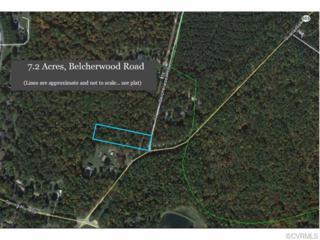 7.2 Acres  Belcherwood Road  , Chesterfield, VA 23832 (MLS #1508034) :: Exit First Realty