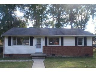 2925  Woodworth Road  , Chesterfield, VA 23237 (MLS #1429664) :: Exit First Realty