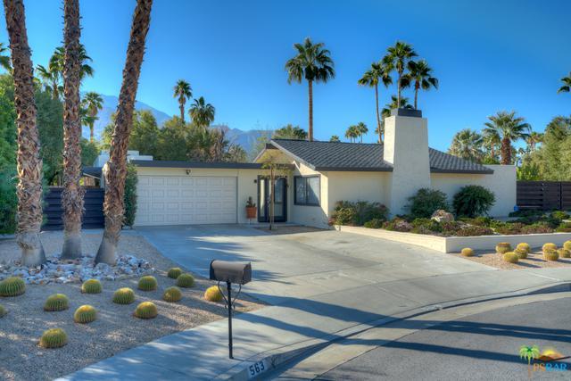 563 Sunset Way N, Palm Springs