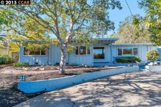 21  North Lane  , Orinda, CA 94563 (#40688269) :: The Bennett Team