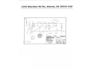 1345  Sheridan Road NE , Atlanta, GA 30324 (MLS #5276709) :: The Zac Team @ RE/MAX Metro Atlanta