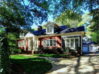1466  University Drive  , Atlanta, GA 30306 (MLS #5361672) :: The Zac Team @ RE/MAX Metro Atlanta