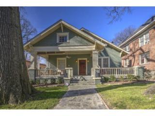 672  Linwood Avenue NE , Atlanta, GA 30306 (MLS #5513532) :: The Hinsons - Mike Hinson & Harriet Hinson