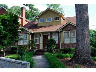 1096  Bellevue Drive NE , Atlanta, GA 30306 (MLS #5289764) :: The Zac Team @ RE/MAX Metro Atlanta