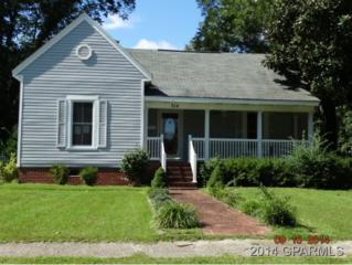 314  Church Street W , Williamston, NC 27892 (MLS #116443) :: The Liz Freeman Team - RE/MAX Preferred Realty