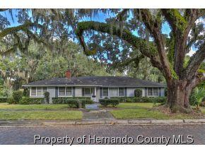 301  S Brooksville Ave  , Brooksville, FL 34601 (MLS #2157184) :: The Hardy Team - RE/MAX Marketing Specialists