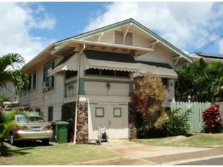 3410  Pahoa Avenue  , Honolulu, HI 96816 (MLS #201417567) :: Team Lally