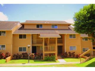 98-1370  Koaheahe Place  #165, Pearl City, HI 96782 (MLS #201417680) :: Keller Williams Honolulu