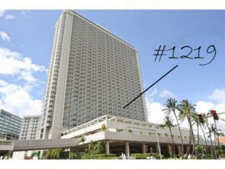 410  Atkinson Drive  1219, Honolulu, HI 96814 (MLS #201508270) :: Elite Pacific Properties