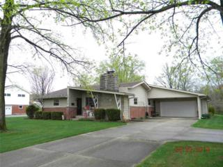210 E Mckenzie Road  , Greenfield, IN 46140 (MLS #21347950) :: The Gutting Group LLC