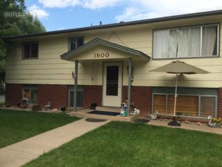 1500  Village Ln  , Fort Collins, CO 80521 (MLS #744460) :: Kittle Team - Coldwell Banker