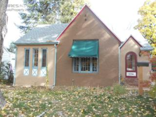 1716  14th Ave  , Greeley, CO 80631 (MLS #749855) :: Kittle Team - Coldwell Banker