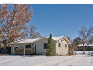 1480  Tipperary St  , Boulder, CO 80303 (MLS #751189) :: The Byrne Group