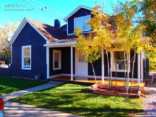 1516  10th St  , Boulder, CO 80302 (MLS #752428) :: The Byrne Group
