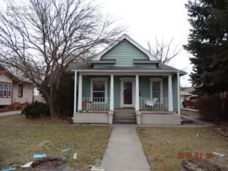 708 N 4th St  , Sterling, CO 80751 (MLS #754490) :: The Colley Team @ Remax Alliance