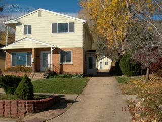 3131  5th St  , Boulder, CO 80304 (MLS #750569) :: The Byrne Group