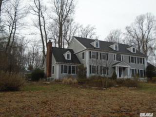 5  Burrma Rd  , Lloyd Harbor, NY 11743 (MLS #2727231) :: RE/MAX Wittney Estates
