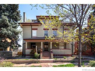 1450 N High Street  2, Denver, CO 80218 (#1516039) :: The Peak Properties Group