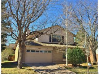 4637 S Yates Street  , Denver, CO 80236 (#1913266) :: The Peak Properties Group