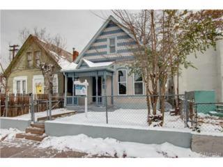 1368  Mariposa Street  , Denver, CO 80204 (#2029086) :: The Peak Properties Group