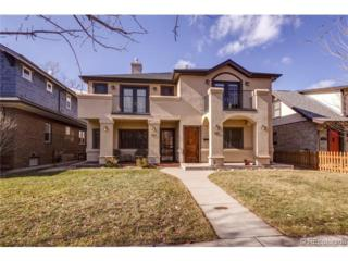 563 S Emerson Street  , Denver, CO 80209 (#4953266) :: The Healey Group
