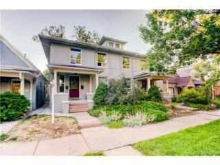 1729  Marion Street  201, Denver, CO 80218 (#5199992) :: The Peak Properties Group