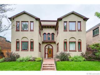 1640 N Downing Street  104, Denver, CO 80218 (#5516219) :: The Peak Properties Group