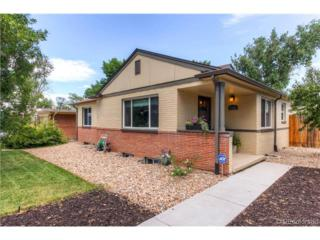 2980  Krameria Street  , Denver, CO 80207 (#6538862) :: The Peak Properties Group