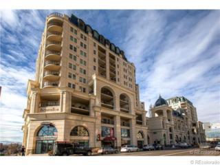 925  Lincoln Street  12-G, Denver, CO 80203 (#7755644) :: The Peak Properties Group