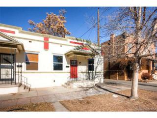 1319 E 27th Avenue  , Denver, CO 80205 (#7876000) :: The Peak Properties Group