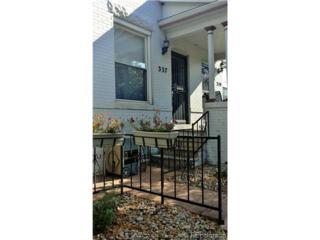337 E 7th Avenue  , Denver, CO 80203 (#8091112) :: The Peak Properties Group
