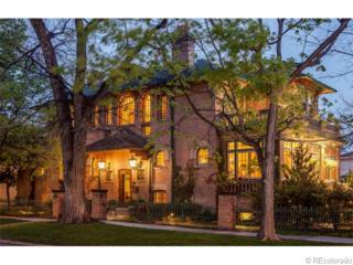 722 E 7th Avenue  , Denver, CO 80203 (#8131958) :: The Peak Properties Group