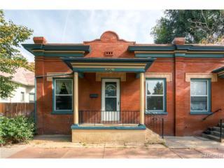 1006  Ogden Street  , Denver, CO 80218 (#8338795) :: The Peak Properties Group