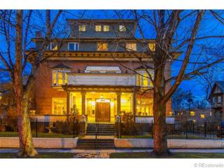 1003  Corona Street  , Denver, CO 80218 (#8910731) :: The Peak Properties Group
