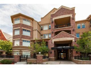 1100  Grant Street  404, Denver, CO 80203 (#3273939) :: The Peak Properties Group