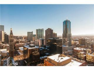 1625  Larimer Street  3004, Denver, CO 80202 (#8001092) :: The Peak Properties Group