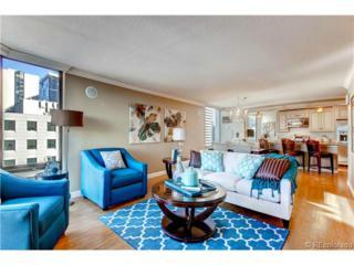 1625  Larimer Street  907, Denver, CO 80202 (#3315954) :: The Peak Properties Group