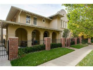 754 E 7th Avenue  , Denver, CO 80203 (#5191392) :: The Peak Properties Group