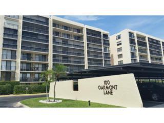 100  Oakmont Lane  701, Belleair, FL 33756 (MLS #U7733419) :: The Lockhart Team
