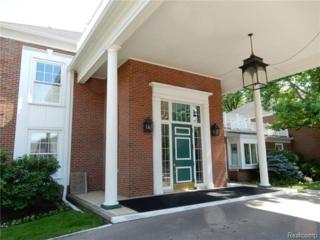 17111 E Jefferson Avenue  27, Grosse Pointe, MI 48230 (#214066367) :: Sine and Monaghan Realtors