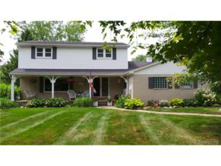 1295  Duckwood Court  , White Lake Twp, MI 48383 (#214077123) :: RE/MAX Classic